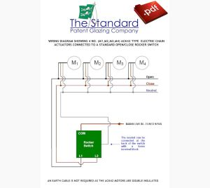Wiring Diagrams for Electric Gearing