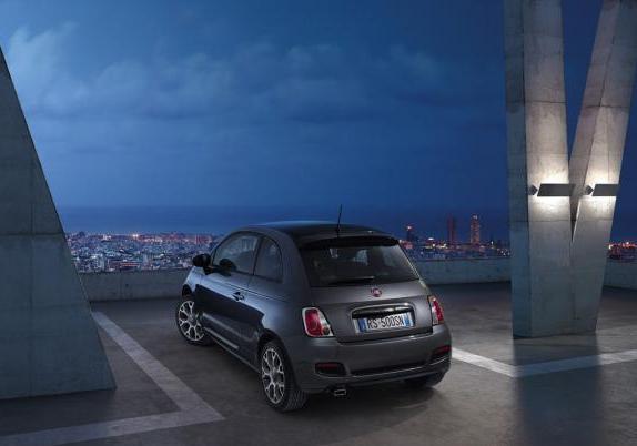 Nuova Fiat 500S posteriore
