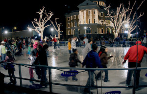 The ice rink in Marshall, TX