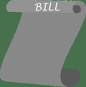 Just a bill