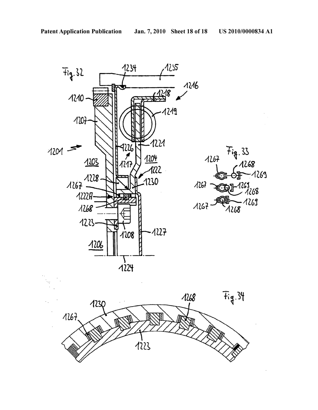 Drivetrain with a main drive shaft and drivetrain for a motor