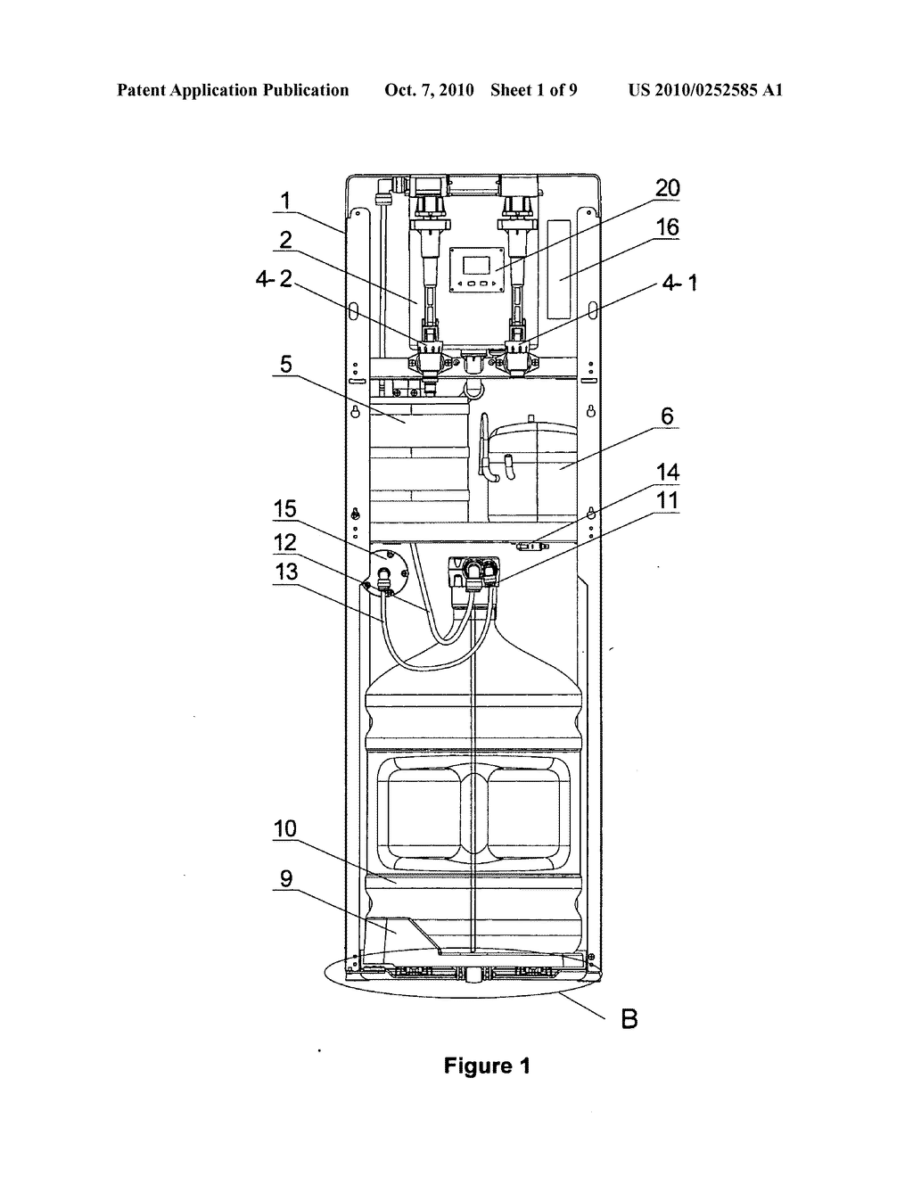 Water Dispenser Schematic Diagram