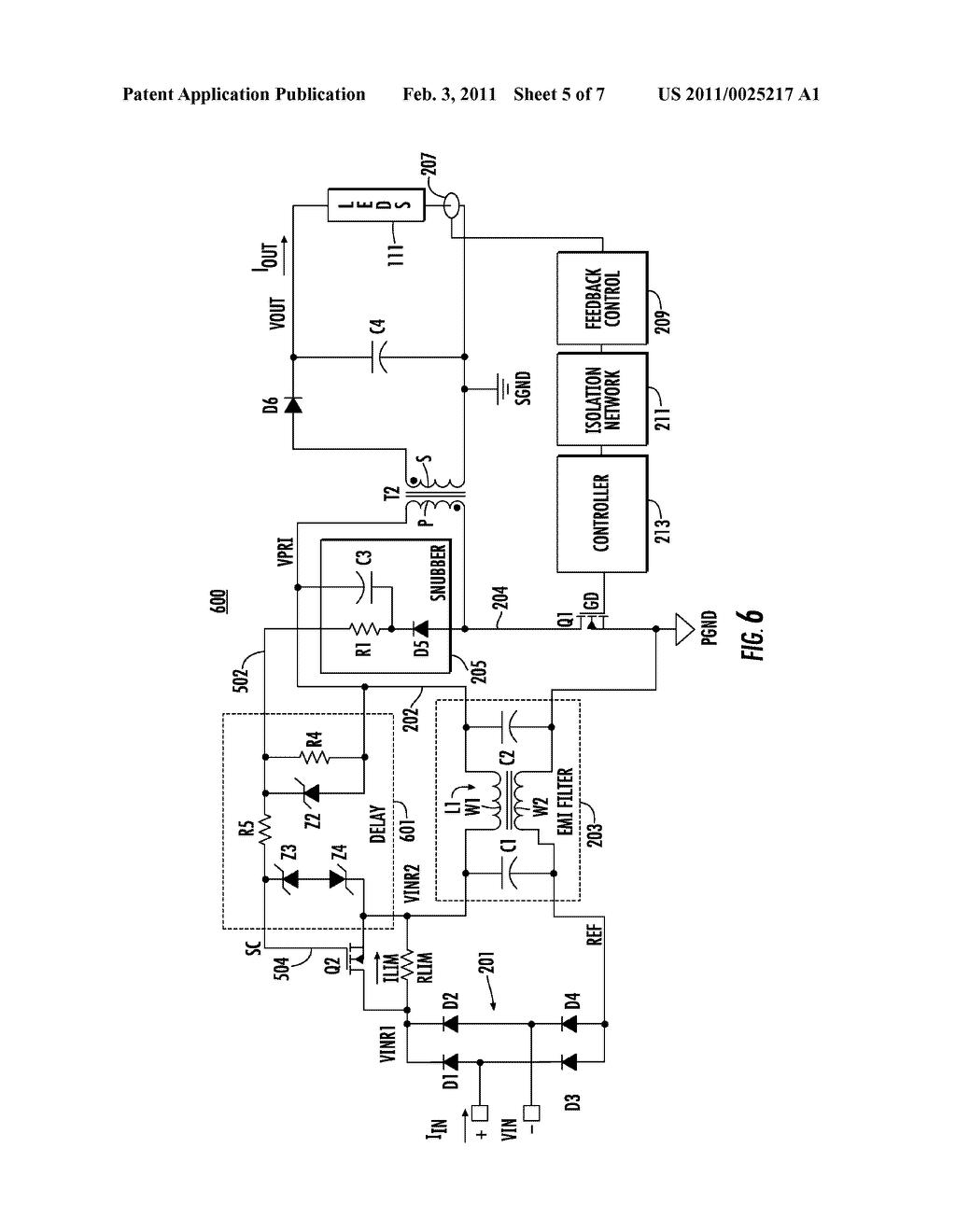 Inrush Current Limiter Circuit Diagram
