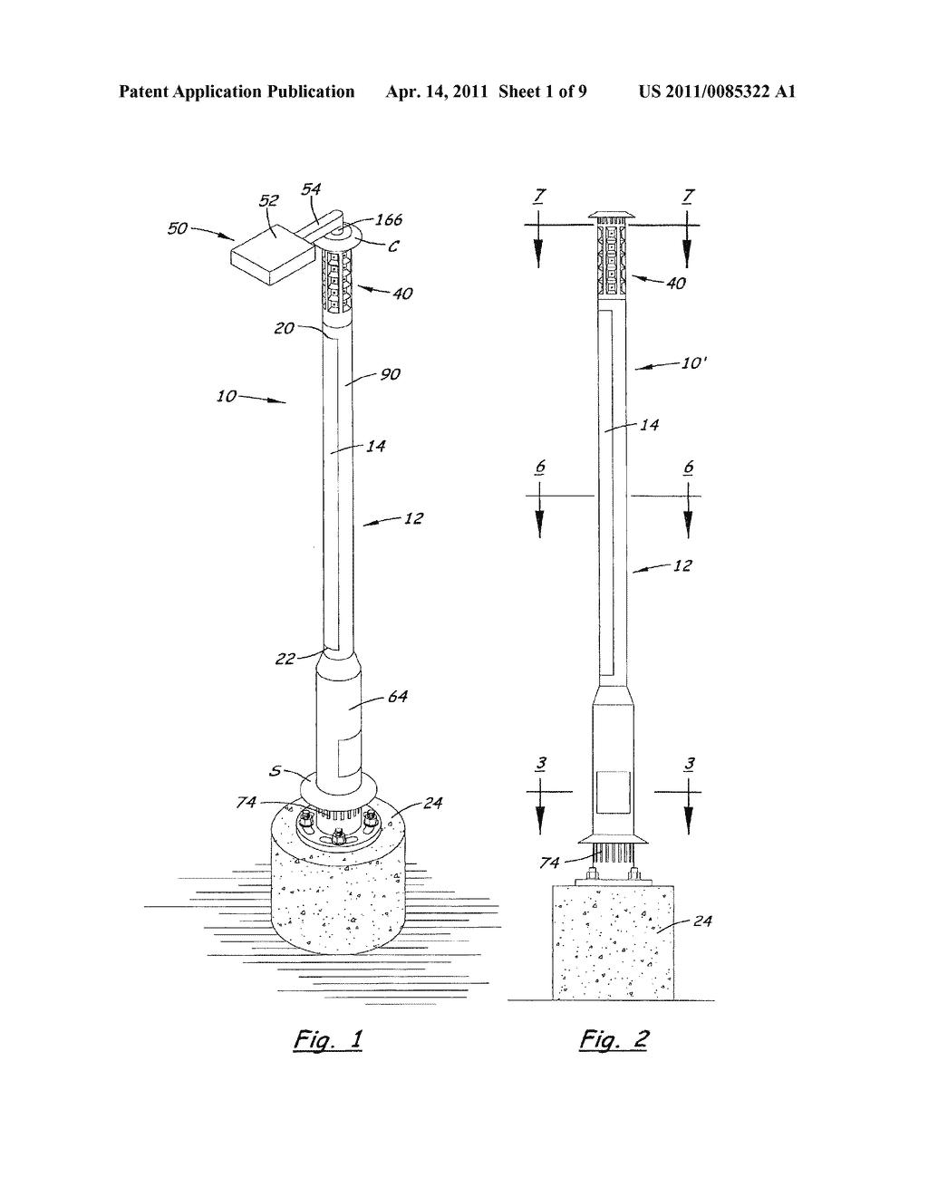 Light Pole Diagram