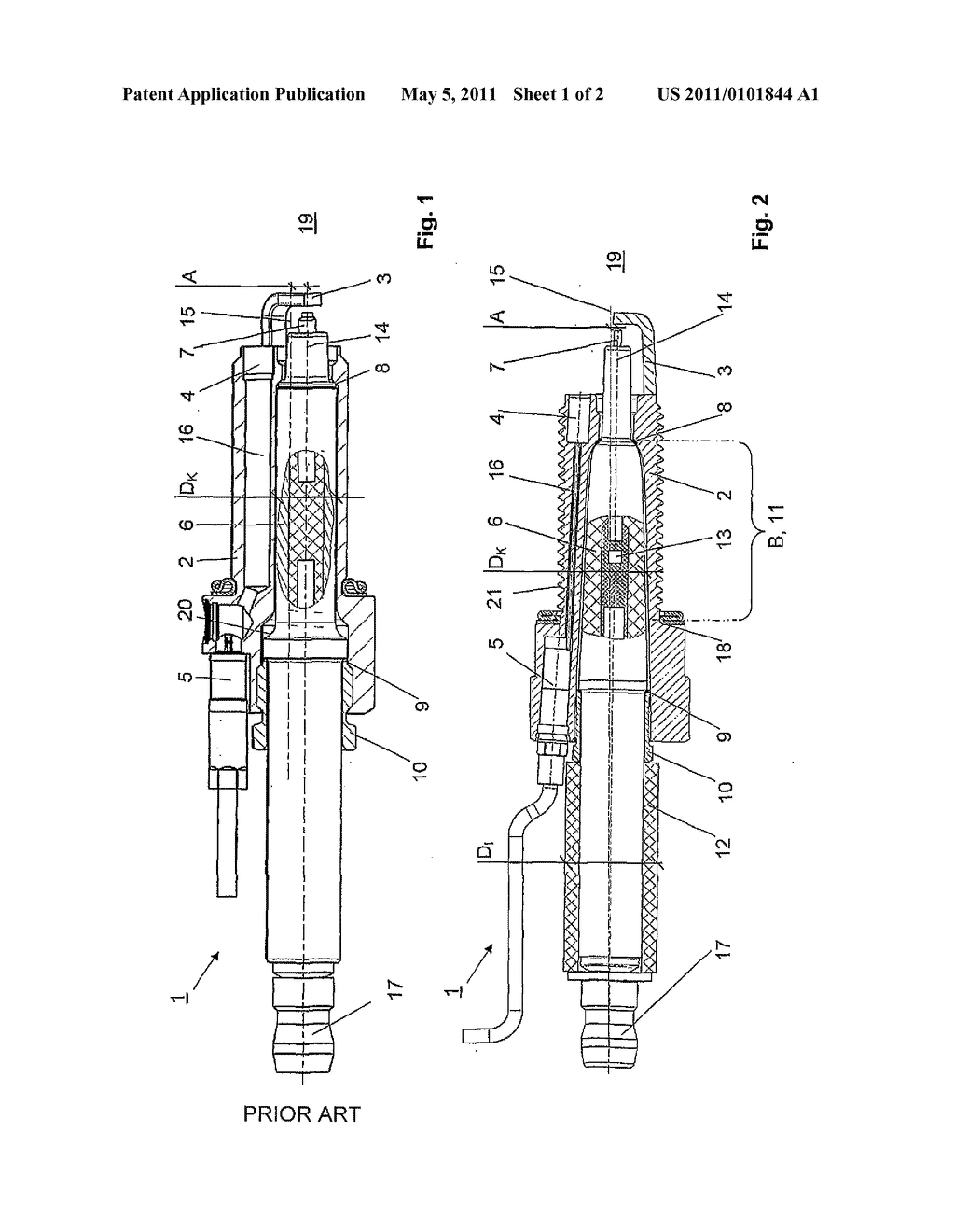 spark plug schematic