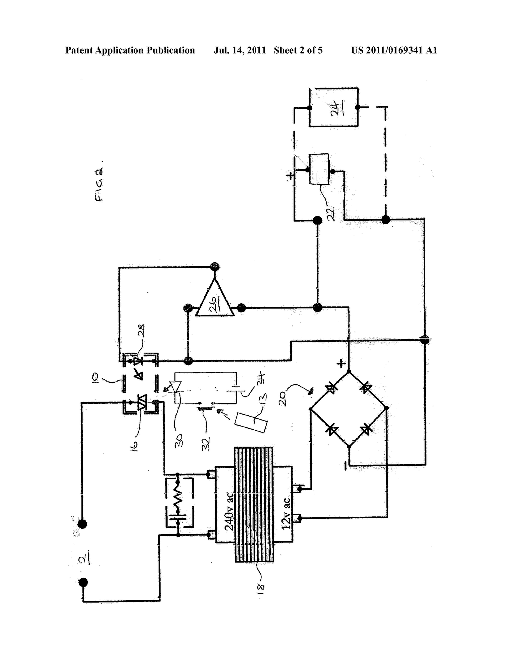 Power Saver Circuit Diagram