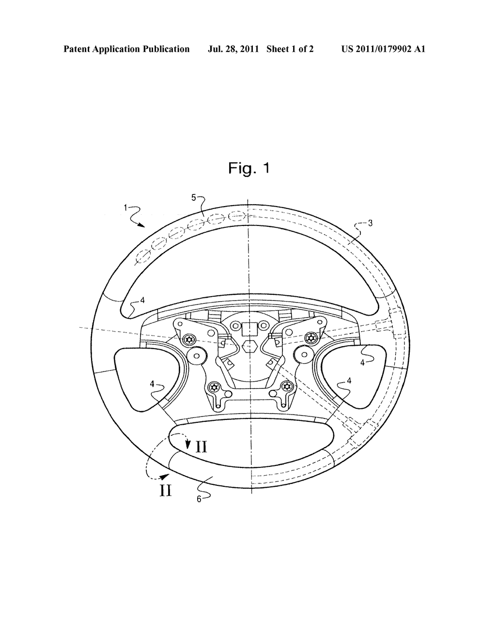 Steering Wheel Diagram