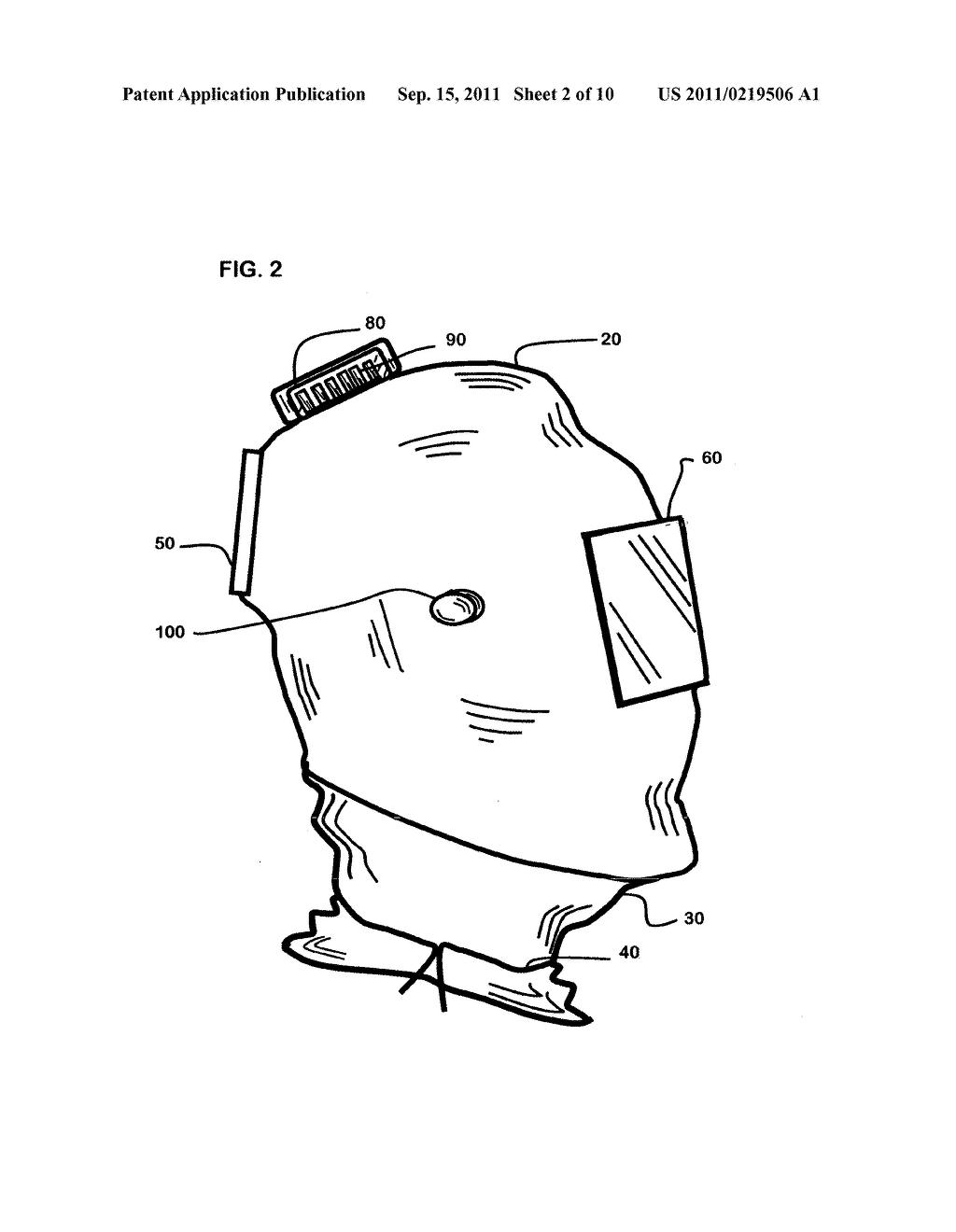 Cool clean air welding helmet diagram schematic and image 03 rh patentsencyclopedia welding machine diagram