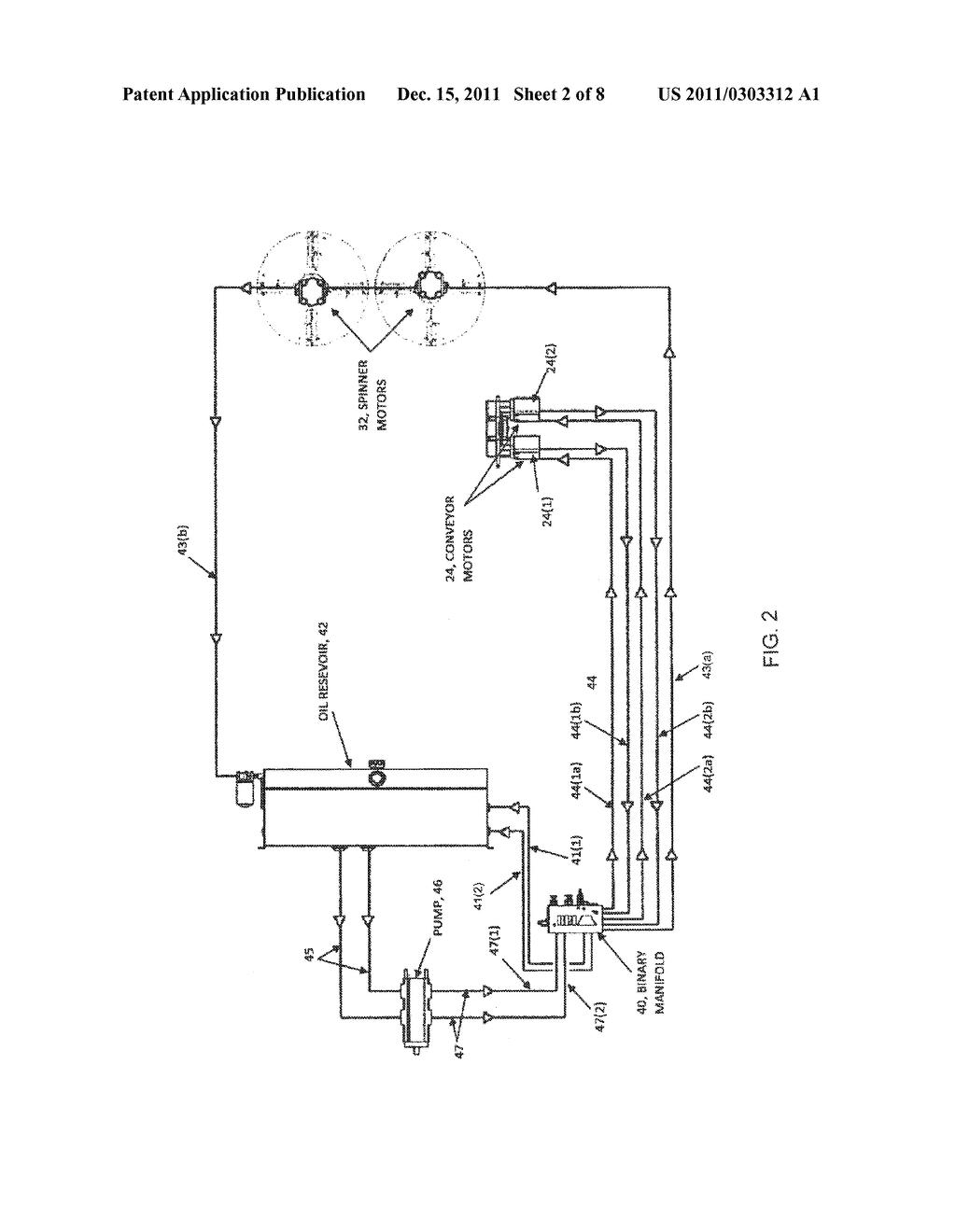 Hydraulic Conveyor Schematic