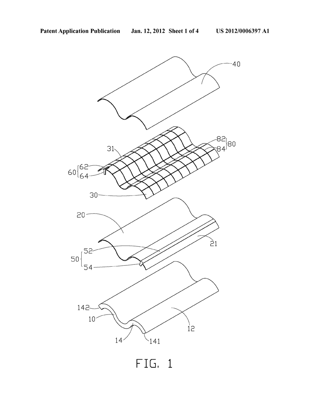 Integrated solar roof tile and method for producing the same tesla solar shingles schematics solar roof tile