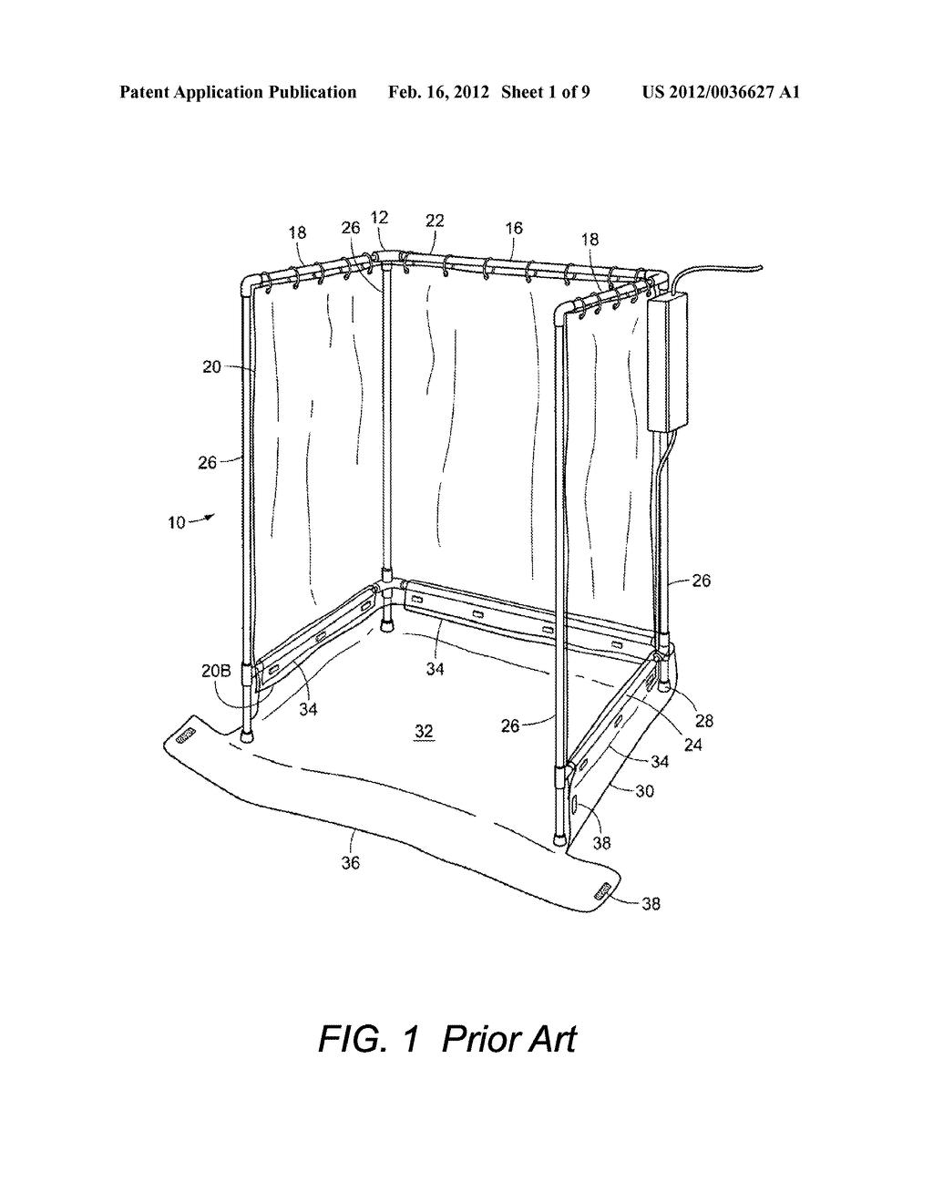 Shower Stall Schematic