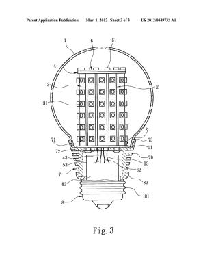 led light bulb diagram Gallery