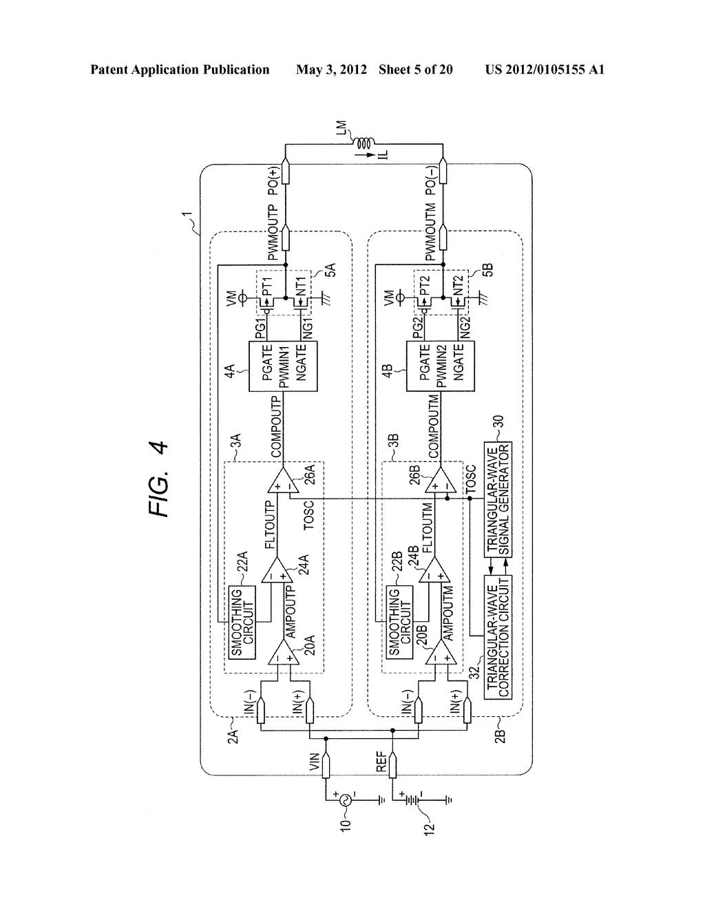 Pulse Width Modulation Lifier Circuit