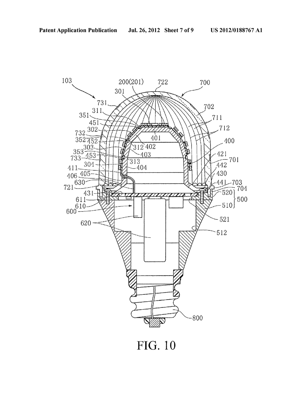 Led Bulb Led Bulb Diagram