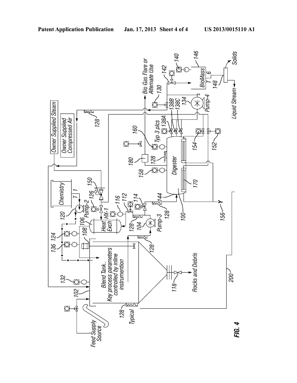 System and method for thermophilic anaerobic digester process 20130015110 05 20130015110 05 anaerobic gas diagram anaerobic gas diagram