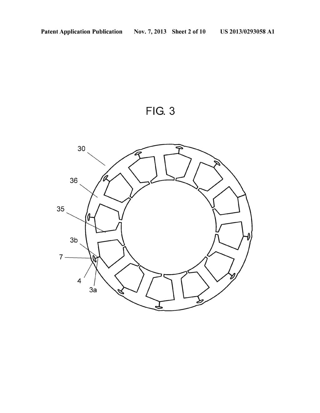 Motor Stator Material