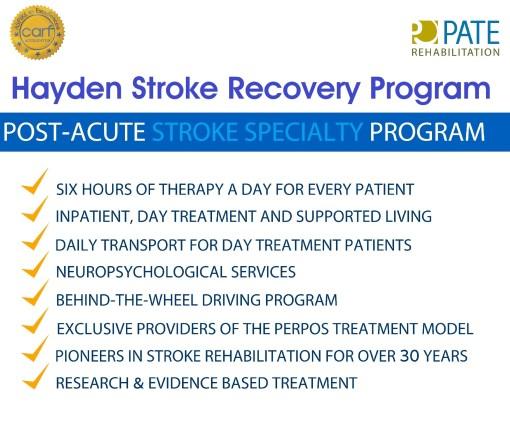 stroke program benefits