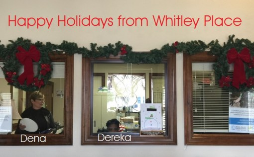 whitley place holiday decor
