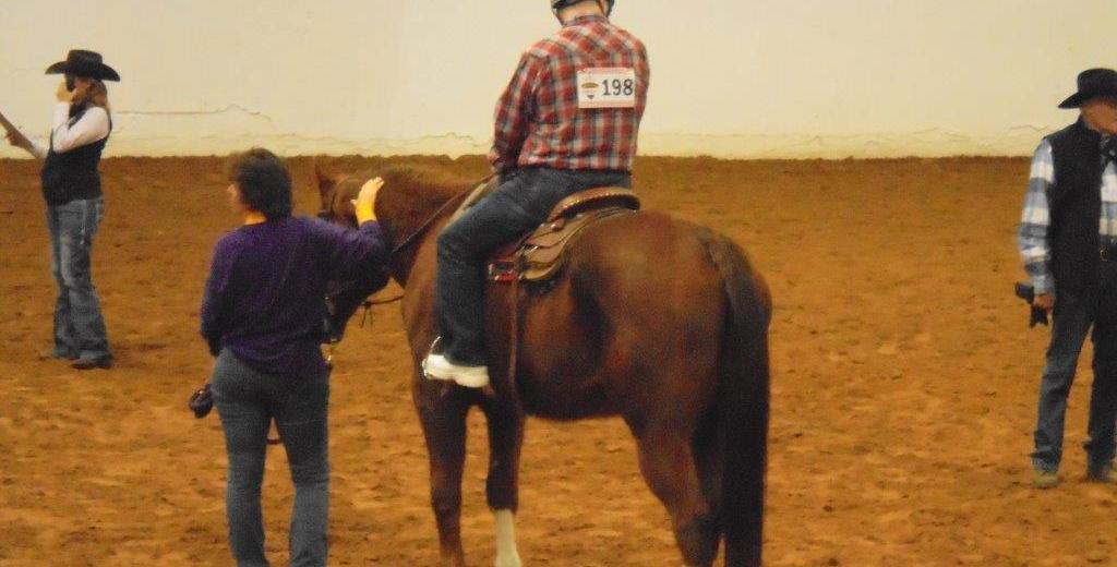chisholm challenge horse rider