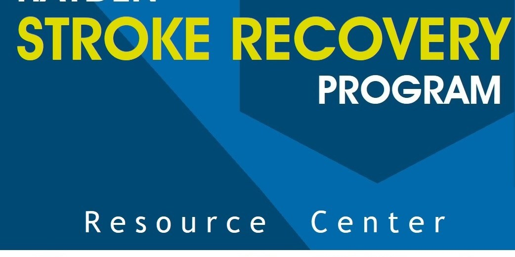 stroke resource center sign