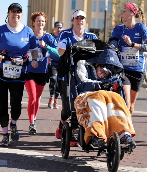 half marathon wheelchair push