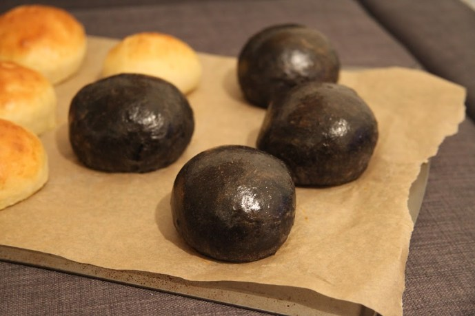 Black Burger with Squid Ink Buns Recipe