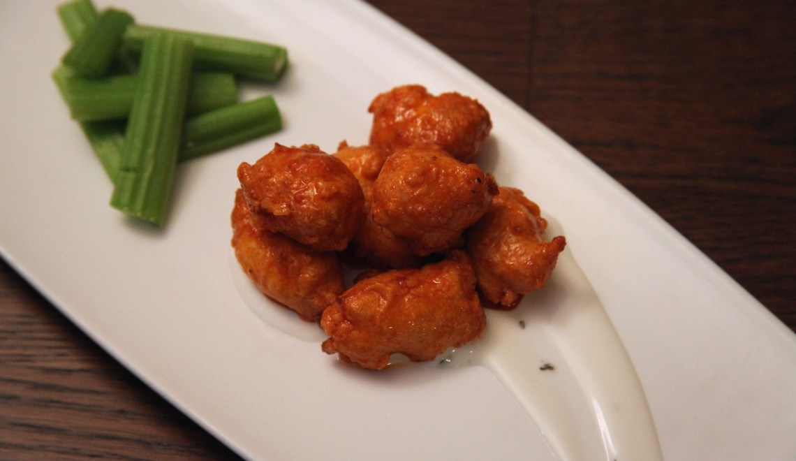 Buffalo Fried Cheese Curds