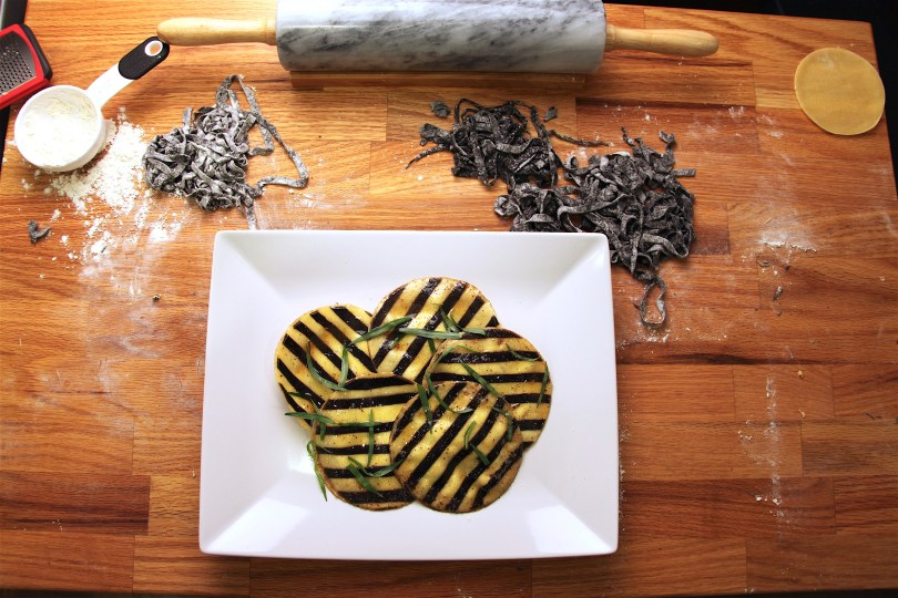 How to Make Striped Pasta