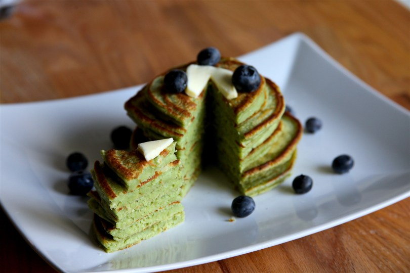 Easy Matcha Pancakes Recipe