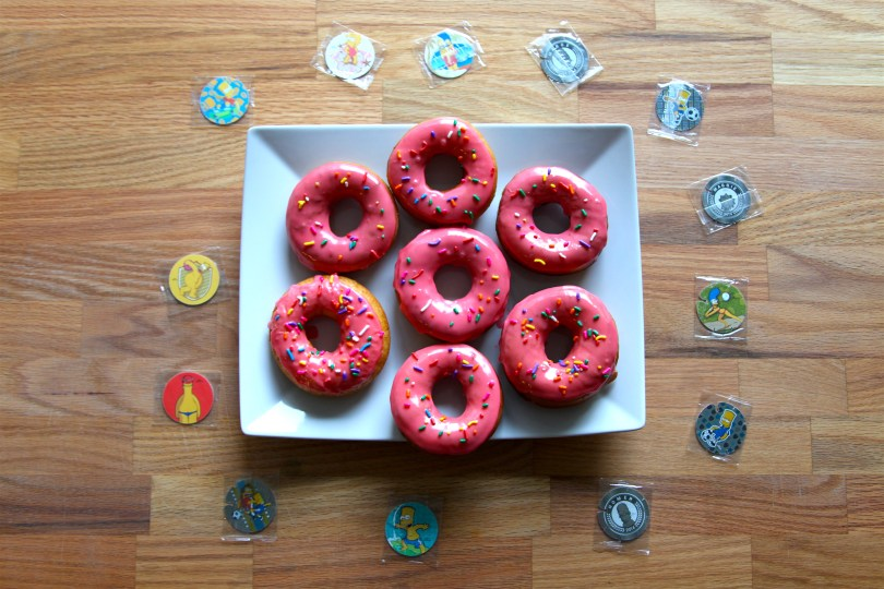 Glazed Simpsons Doughnuts Recipe