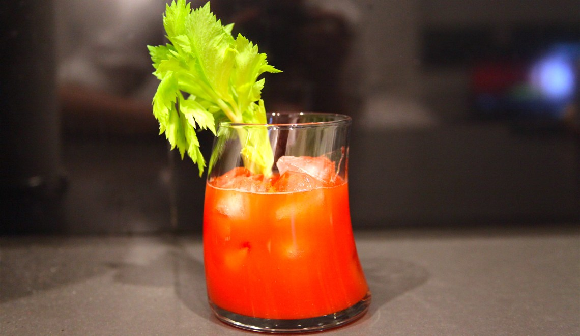 Sake Bloody Mary Cocktail