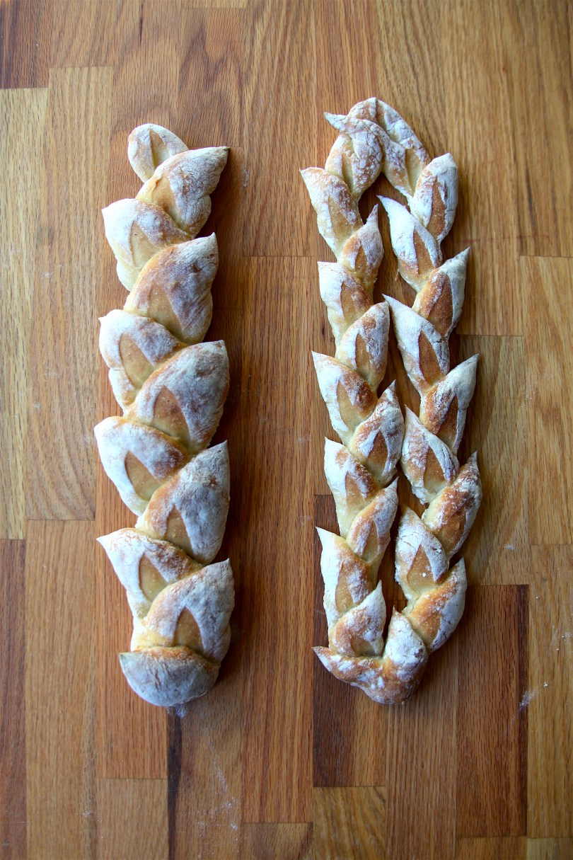 French Pain D'Epi Wheat Stalk Bread Recipe