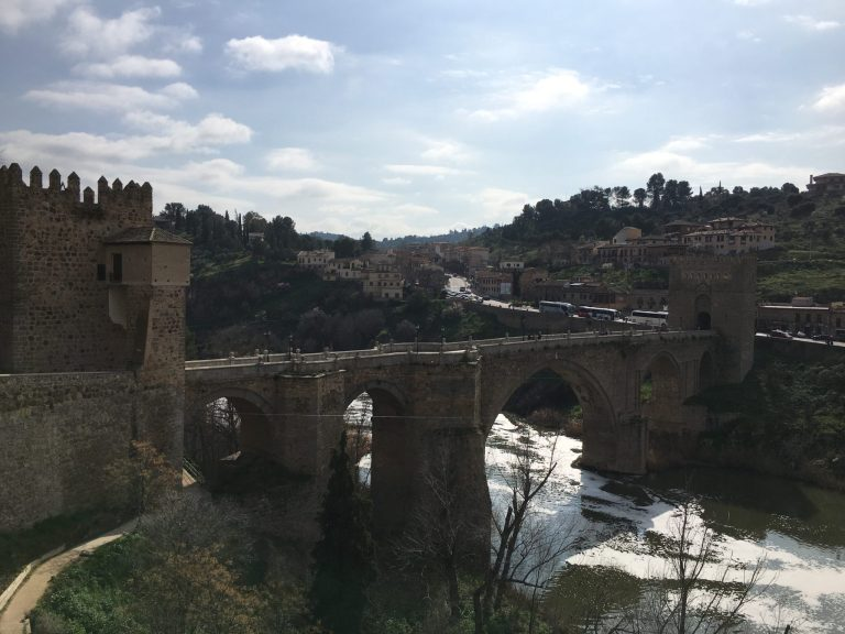 San Martin's Bridge, Toledo, Spain