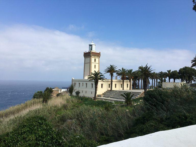 Lighthouse Cap Malabata, Tangier, Morocco