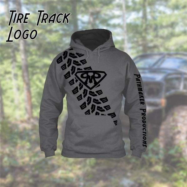 Tire Track Hoodie