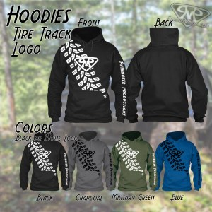Tire Track Hoodies