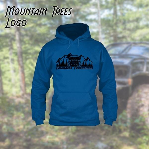 Mountain Trees Logo Hoodie