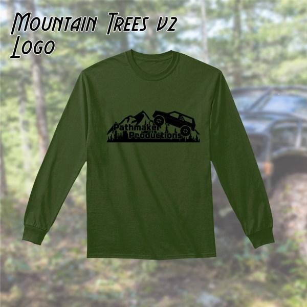 Mountain Trees v2 Long Sleeve Tee