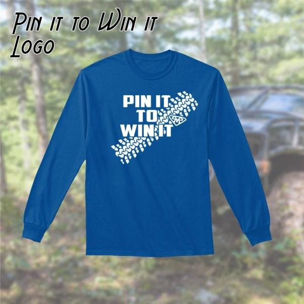 Pin it to Win it Long Sleeve Tee