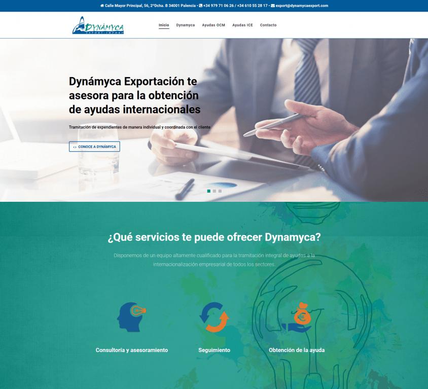 Dynamyca Exportación