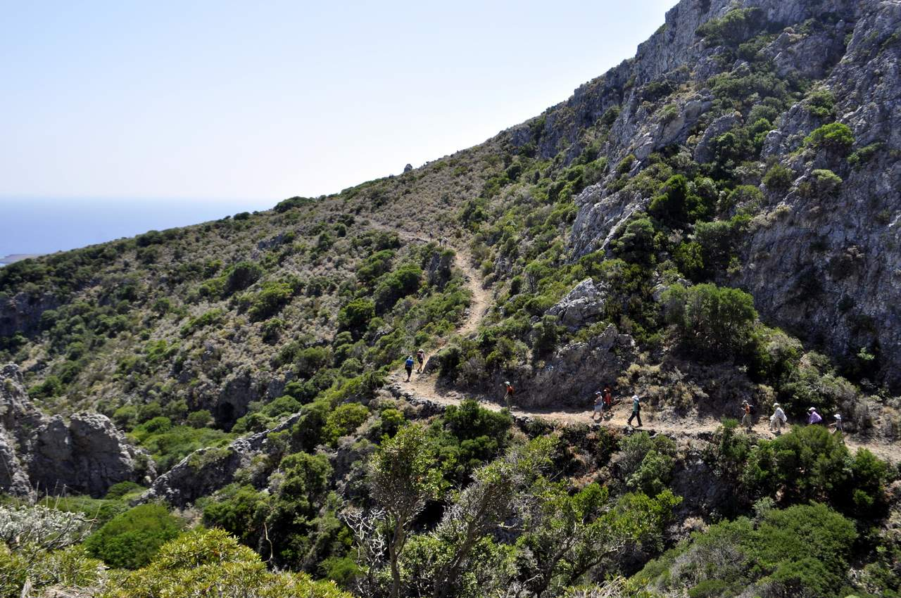 kythera hiking