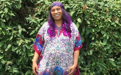 Alexandria Gazette Shares Lorraine Johnson's, artist and Pathway Homes' client's, Story
