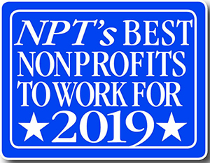 Logo for the NonProfit Times Best Nonprofits to work for list