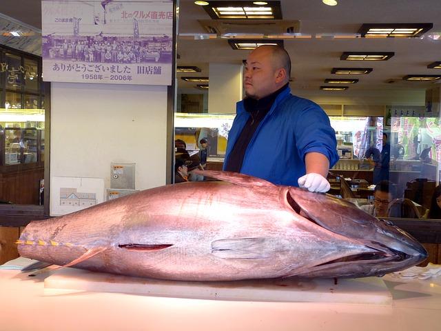 Tuna Wholesaler, sushi