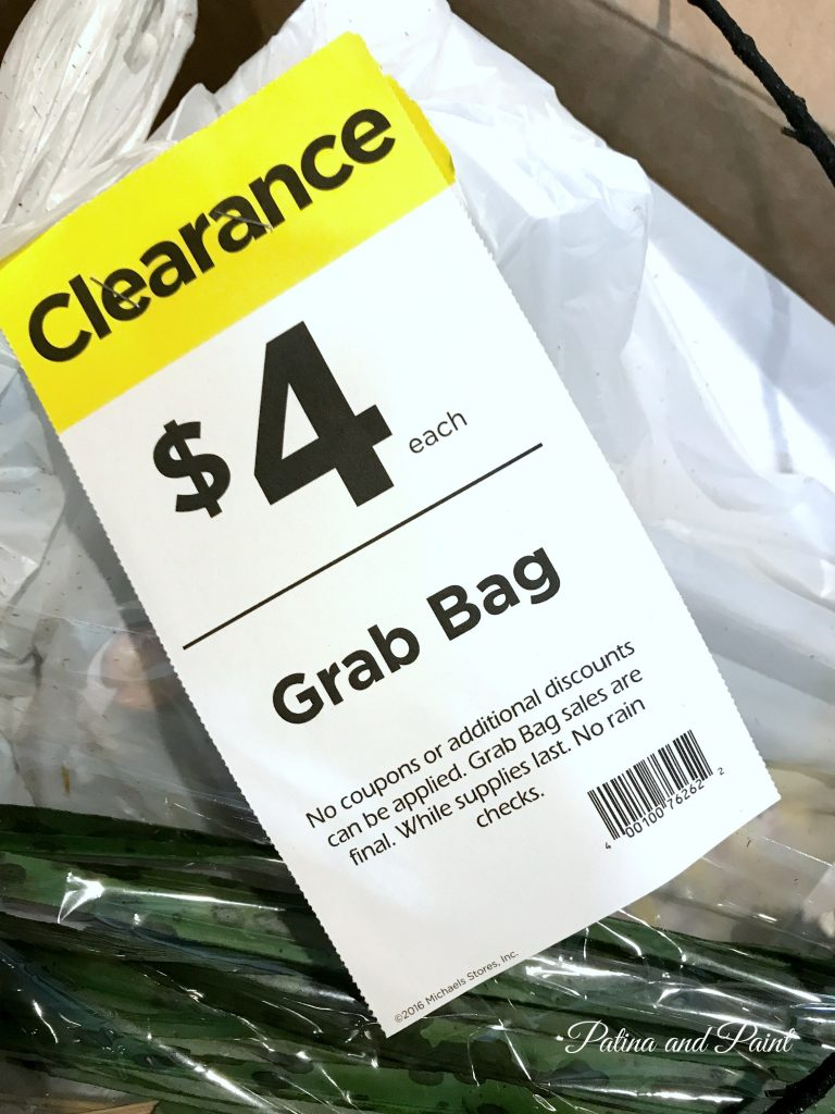 grab bag sign