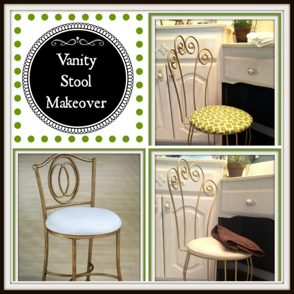 Bathstool makeover
