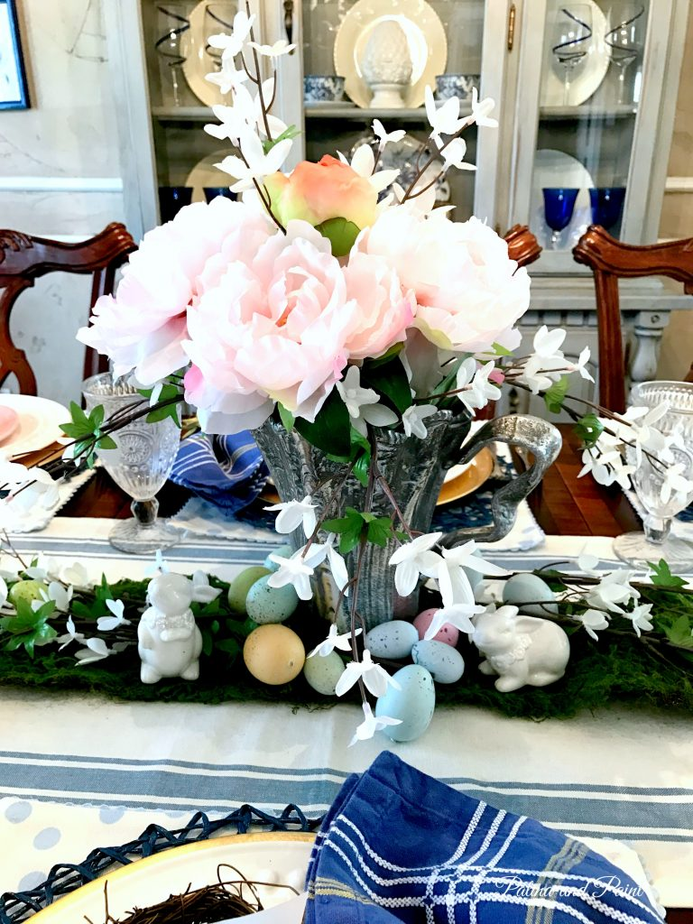 Easter Table Reveal