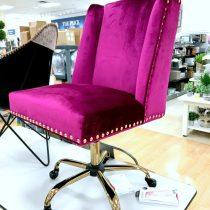 Fuchsia office chair