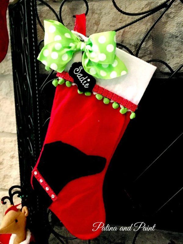 DIY Christmas Friday #3 Pet Christmas Stocking 2