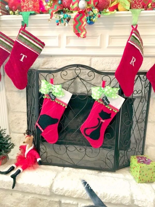 DIY Christmas Friday #3 Pet Christmas Stockings 13